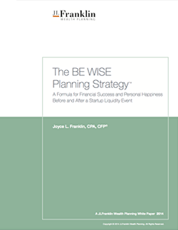 The BE WISE Planning Strategy
