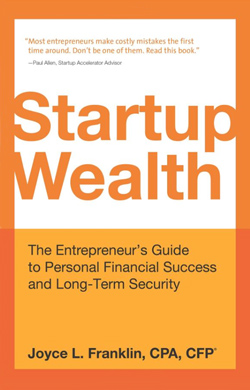 Book Cover - Startup Wealth