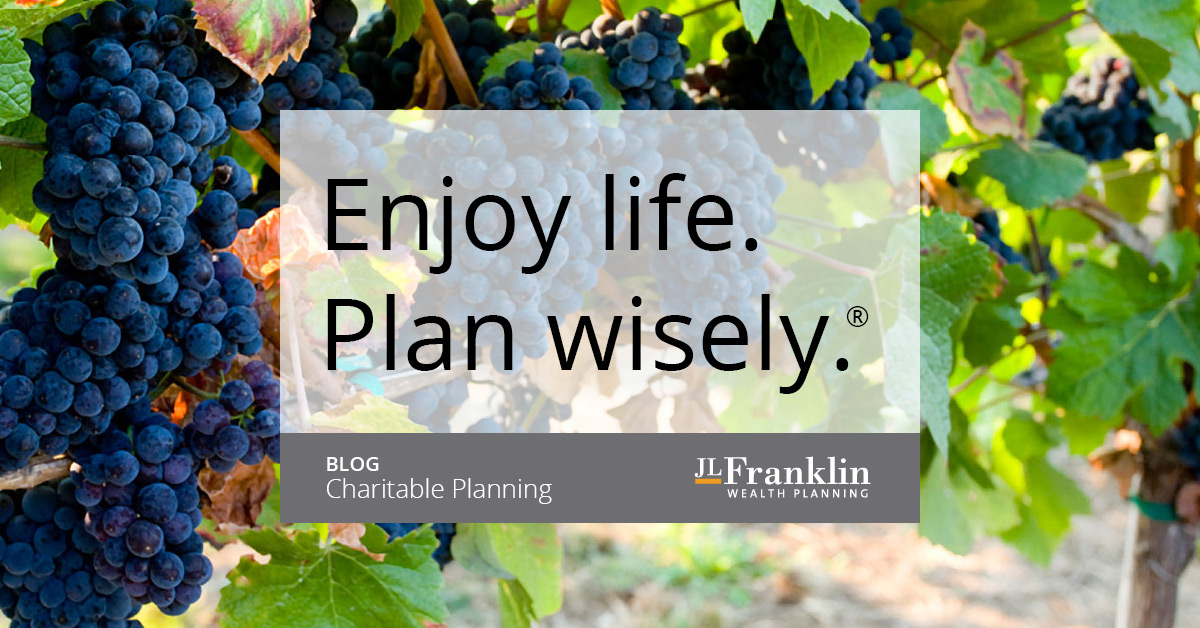 Charitable Planning Blog - JLFranklin Wealth Planning