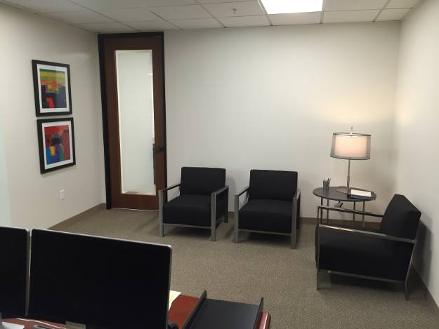JLFranklin Wealth Planning Reception Area